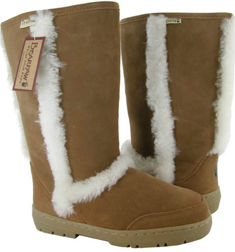 Bearpaw-Eskimo-Boots-Shoes-Suede-Sheepskin