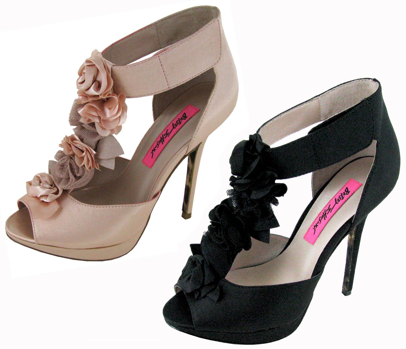 Betsey Johnson Florely Womens Platform Pump Shoes