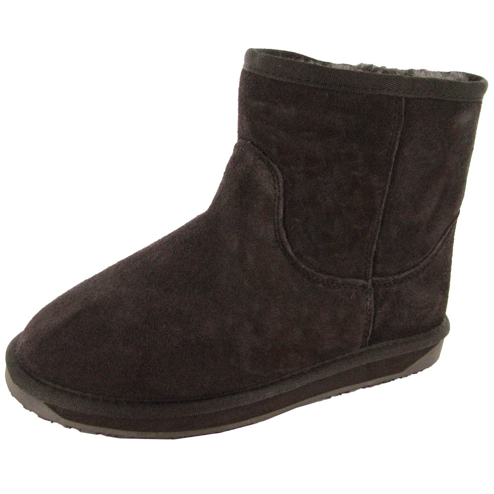 booroo womens minnie waterproof suede snow boot ebay