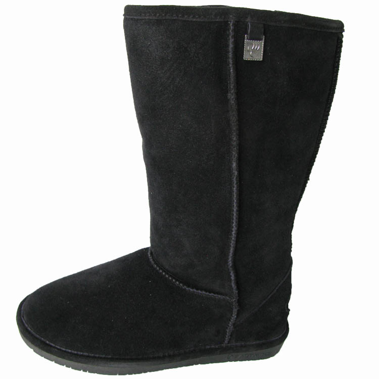 Bearpaw 'Bianca Tall II' 12-Inch Suede Sheepskin Boot Shoe at Sears.com