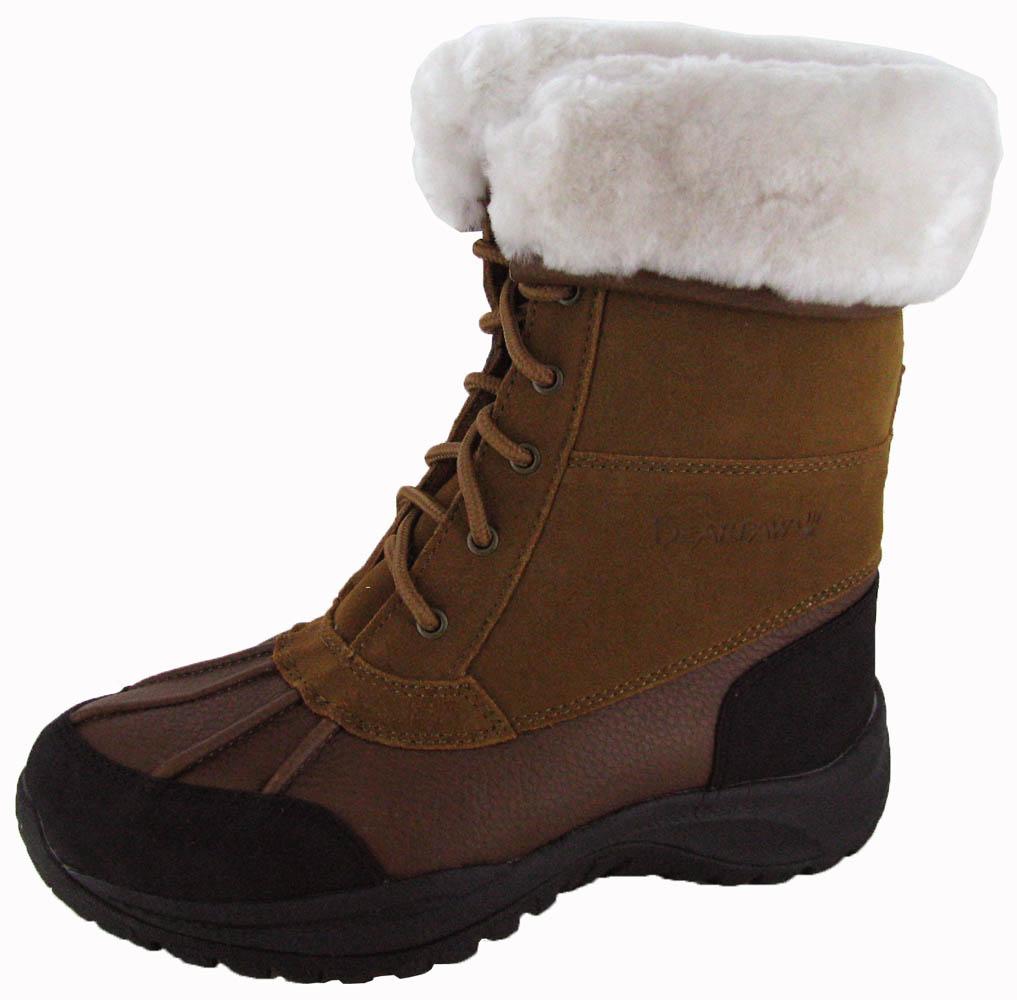 Bearpaw-713-Stowe-Boys-Kids-Leather-Sheepskin-Boots