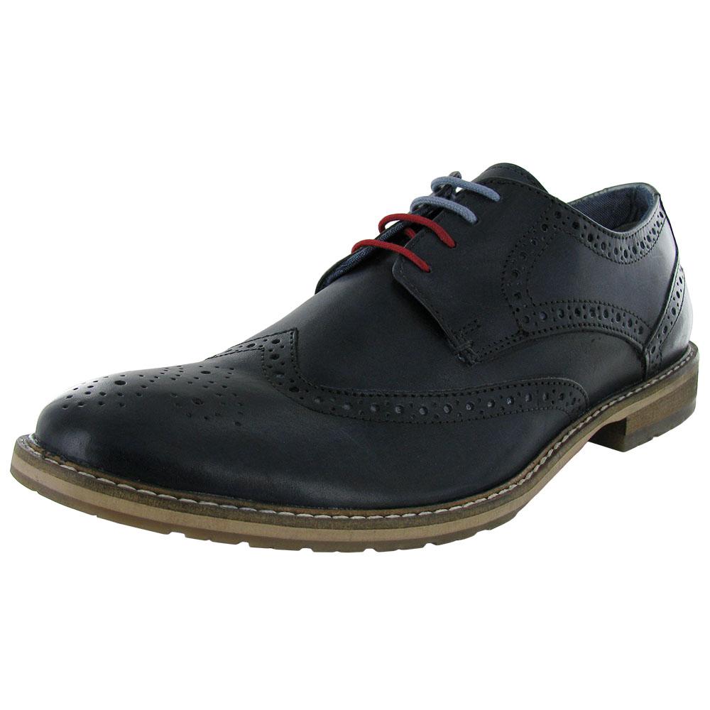 Ben Sherman Mens Bergen Wingtip Oxford Shoe