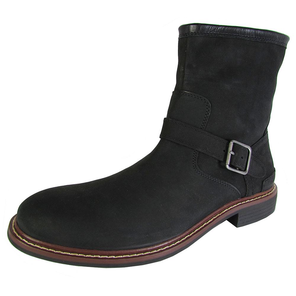 cole haan mens bryce zip ankle buckle winter boot shoes ebay