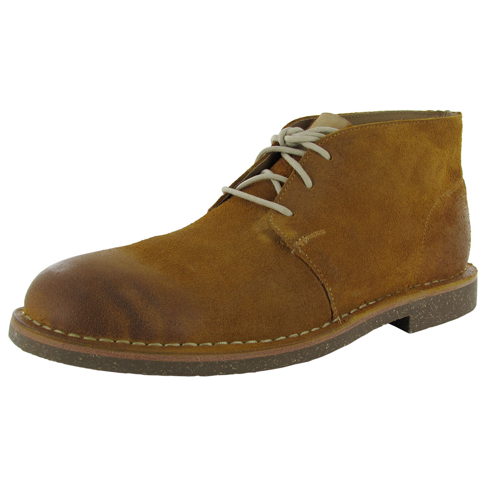 Cole Haan Men Glenn RBR Leather Chukka Boot Shoe