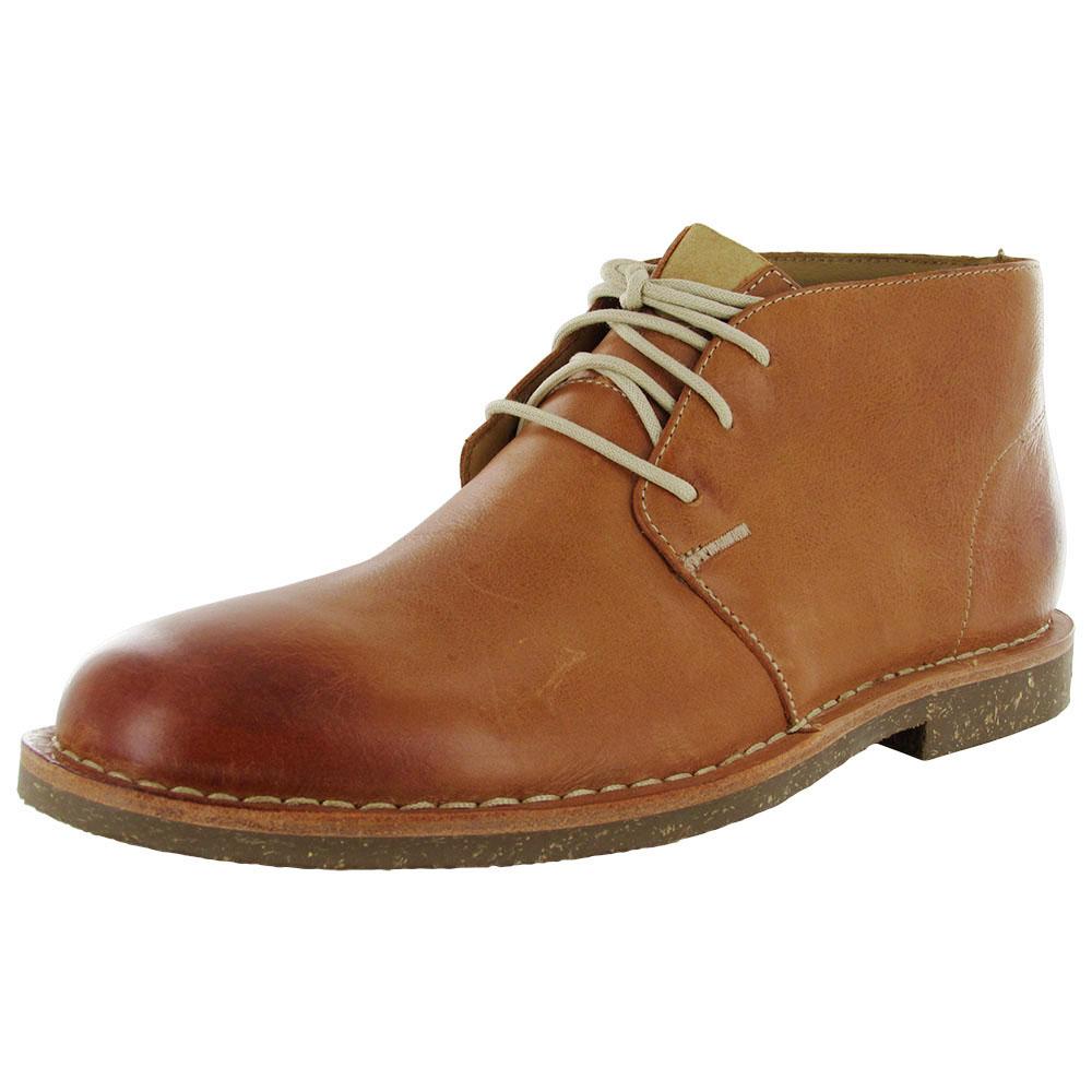 Cole Haan Men Glenn RBR Leather Chukka Boot Shoe