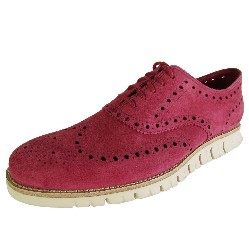 cole haan zerogrand wingtip casual oxford shoe ebay