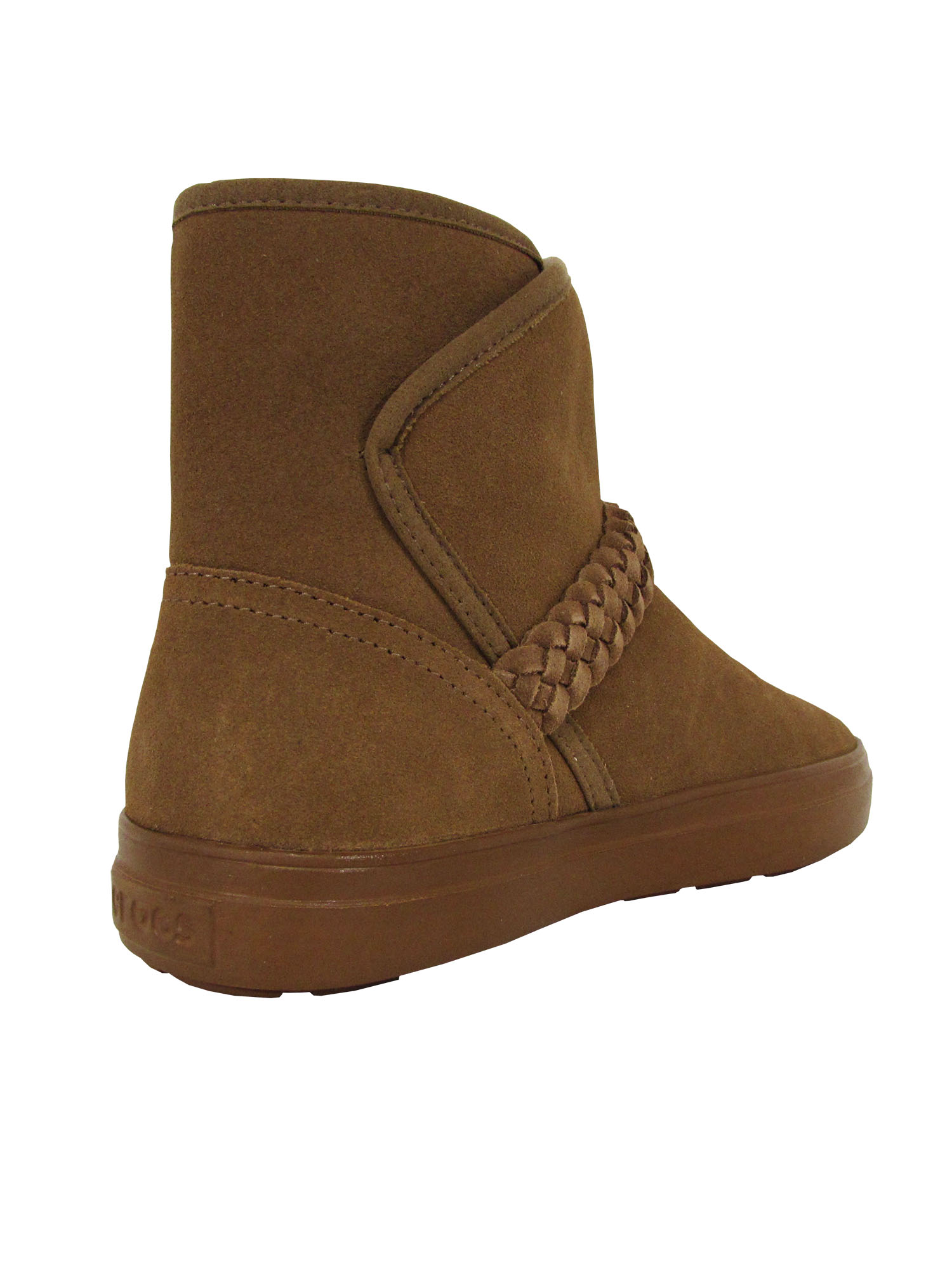 Crocs Womens LodgePoint Suede Bootie Shoes