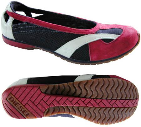 Diesel-Ballerikah-Womens-Shoes-Ballet-Flats-New