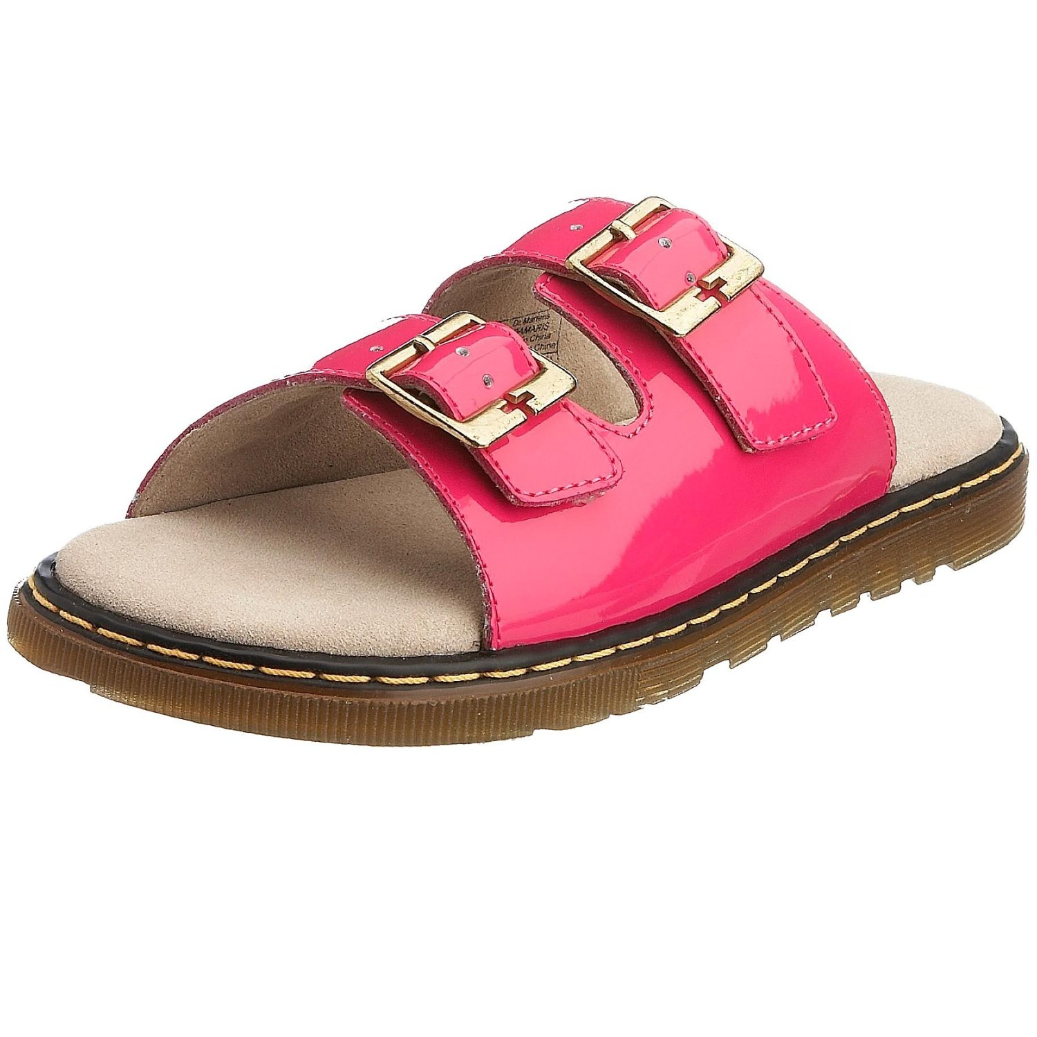Two Strap Slide Sandals Womens