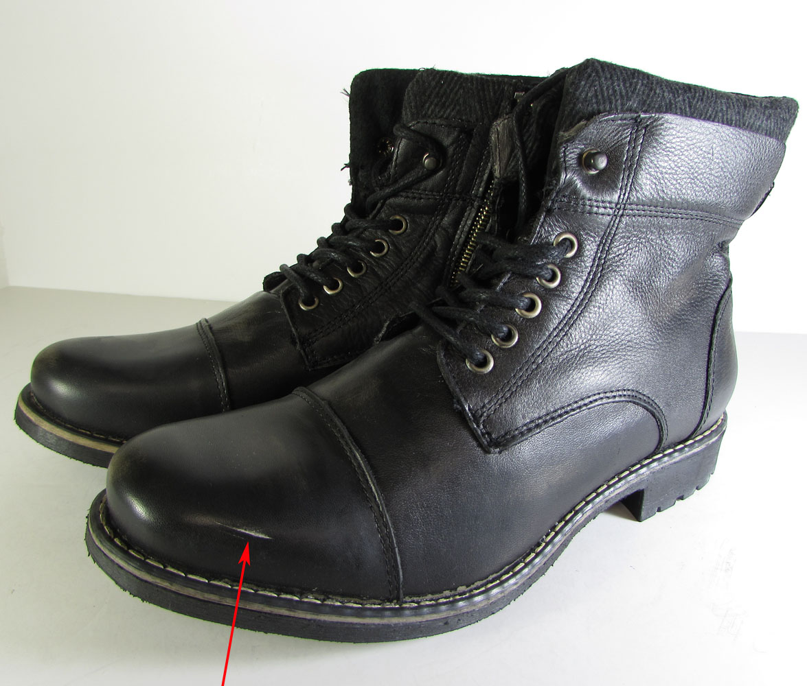 $150 Steve Madden Mens Meyner Combat Boot Shoe Black, US ... Steve Madden Combat Boots Men