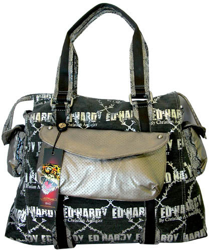 Ed Hardy 'Galactic Rock Mercury' Purse w/Removable Clutch at Sears.com