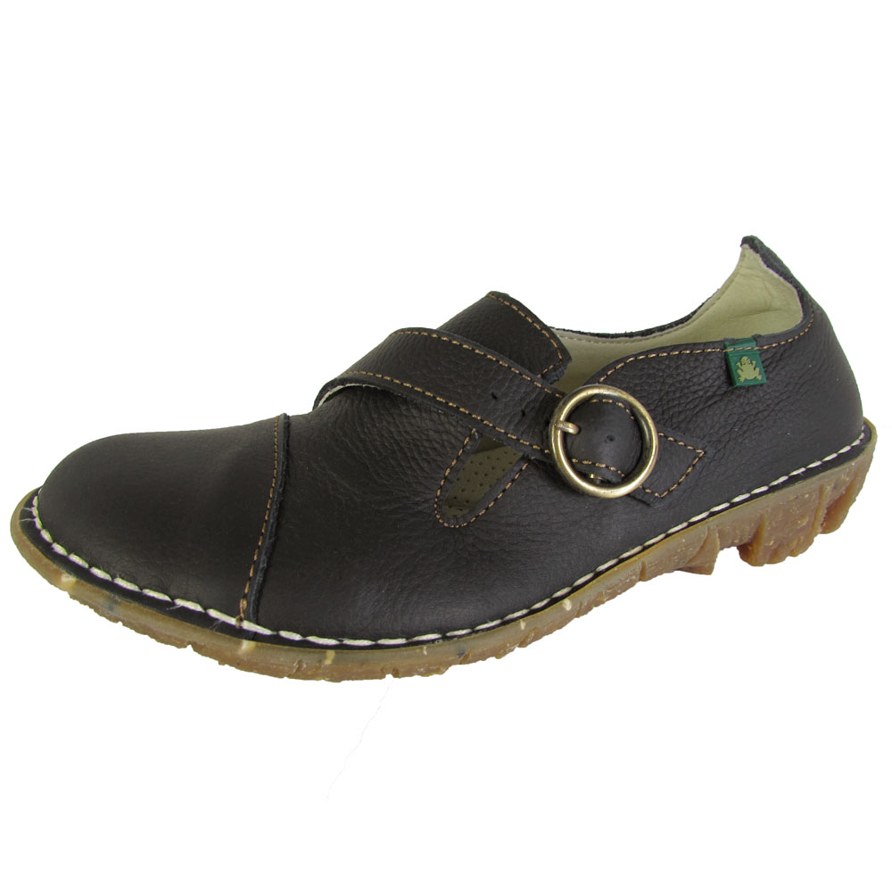 El Naturalista Womens N008 Savia Flat Walking Shoes