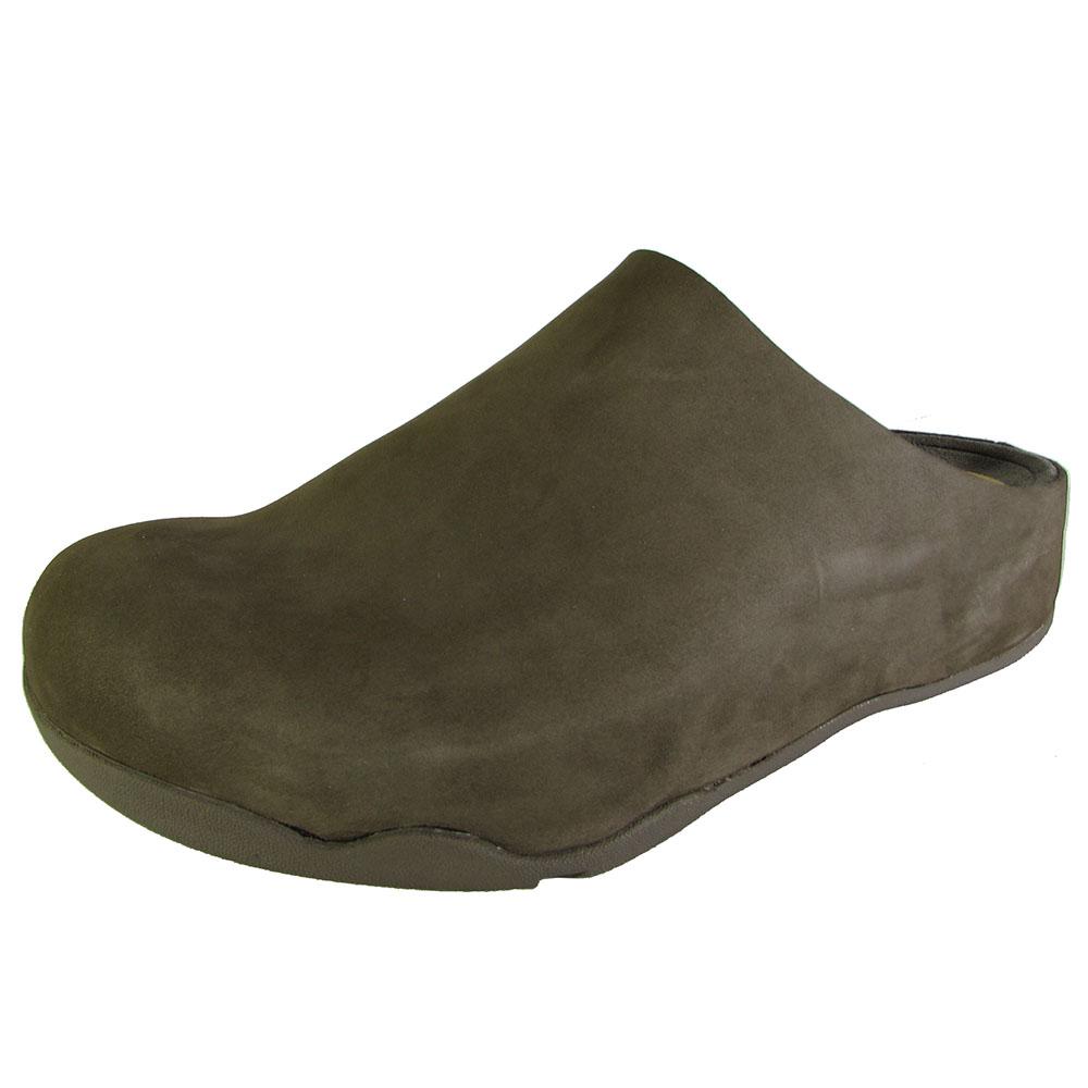FitFlop Mens Shuv Slip On Clog Shoe | EBay