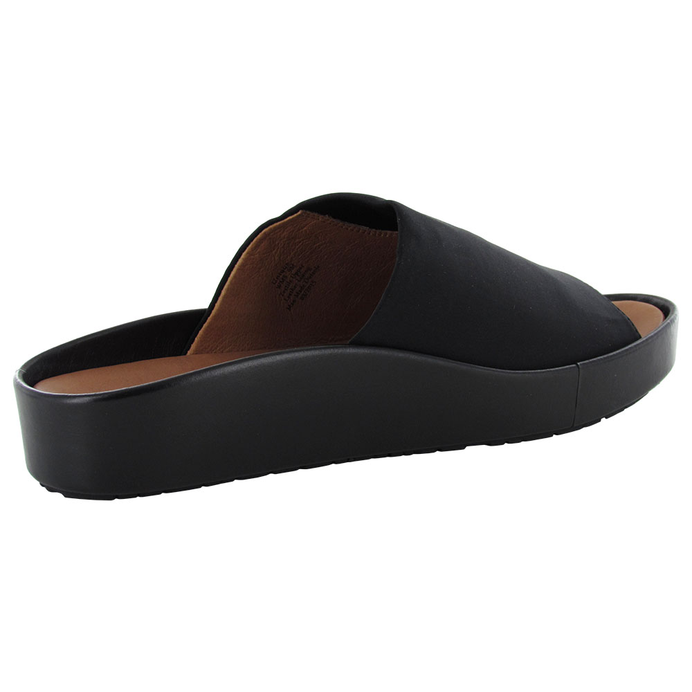 gentle souls womens unique ne platform slip on sandal shoe