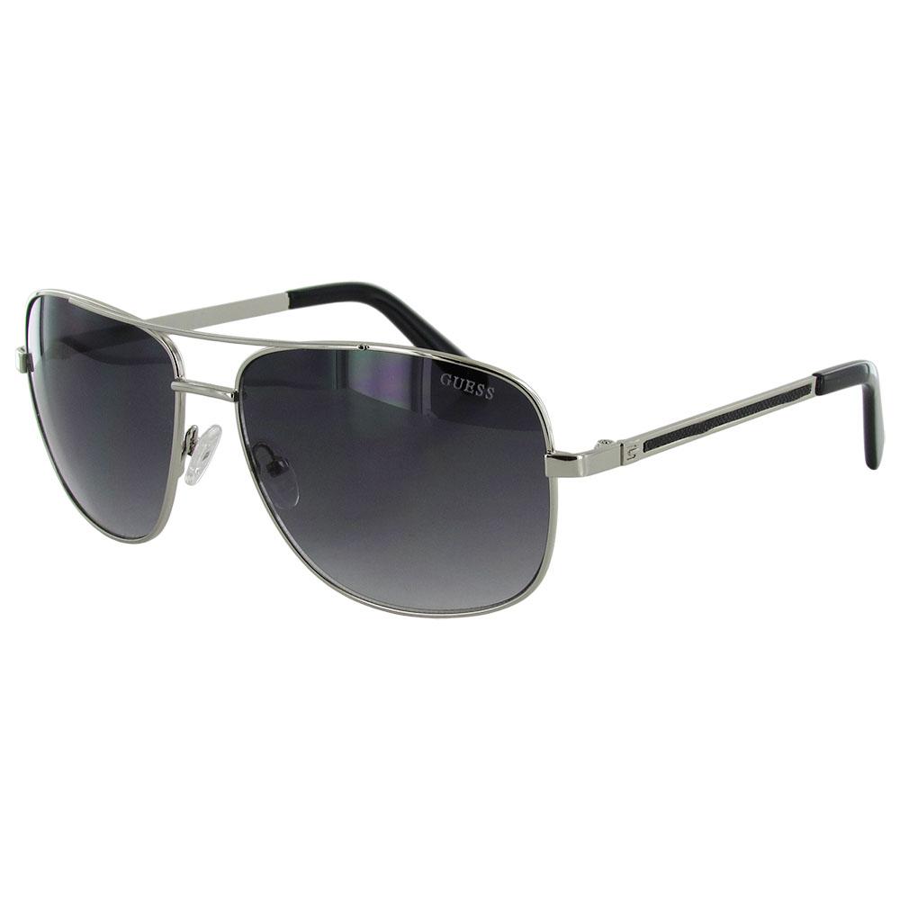Wire Frame Glasses Trend : Guess Mens GF0167 Aviator Wire Frame Fashion Sunglasses eBay