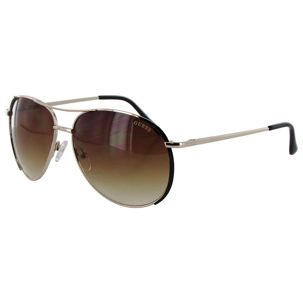 Guess Wire Frame Glasses : Guess Womens GF0267 Wire Rim Aviator Fashion Sunglasses eBay