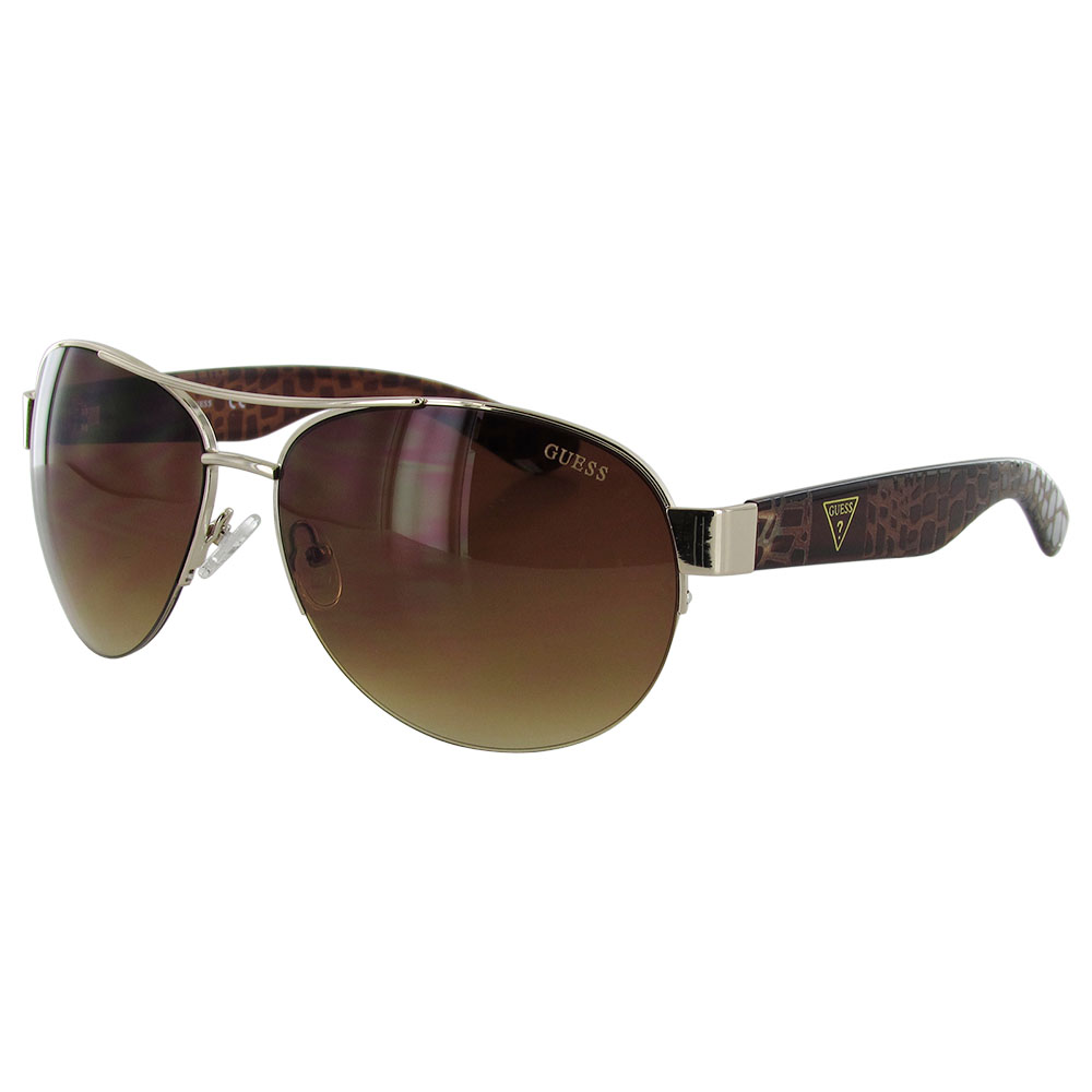 Wire Frame Glasses Trend : Guess Womens GF0288 Semi Rimless Wire Frame Fashion ...