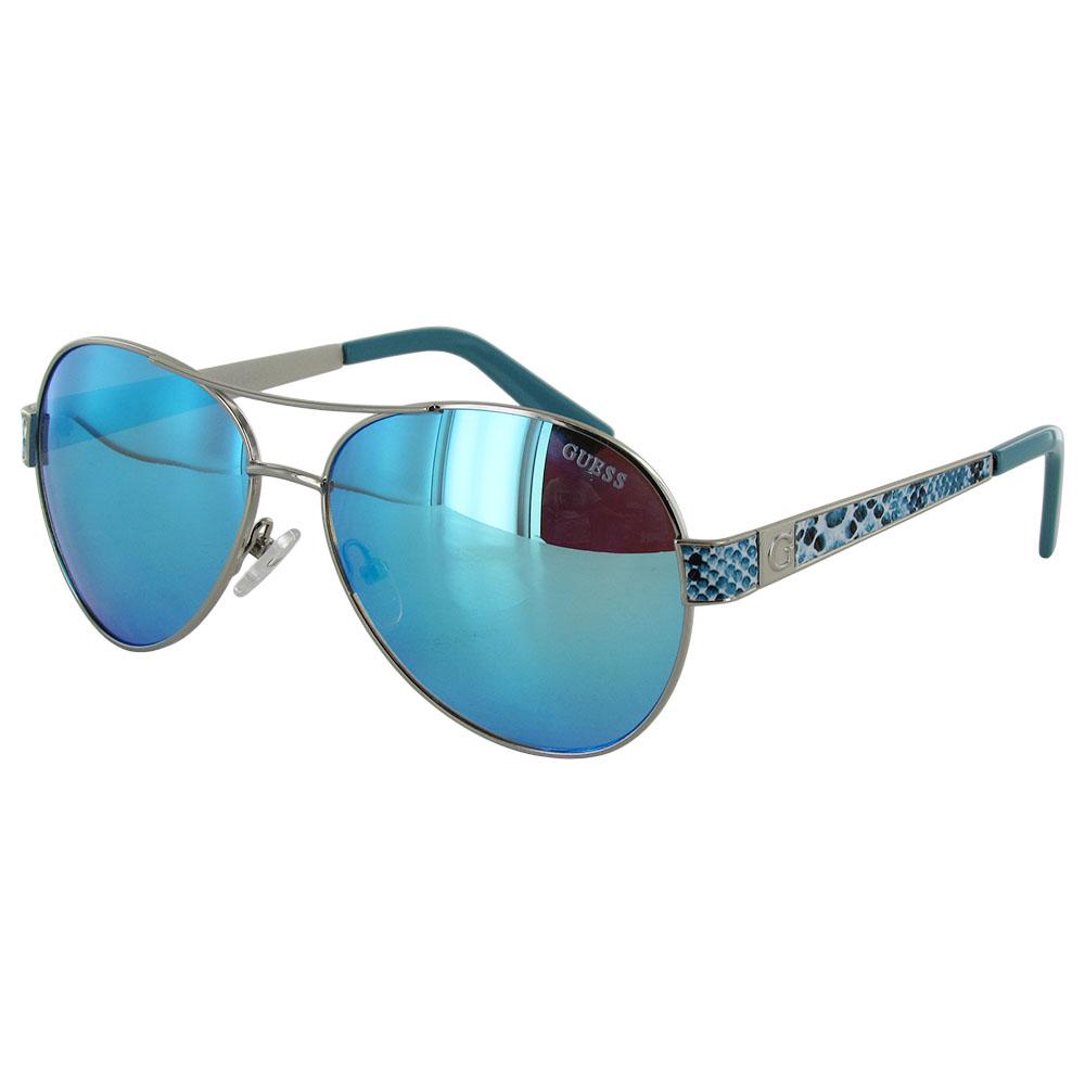 Guess Wire Frame Glasses : Guess Womens GF0290 Wire Rim Aviator Fashion Sunglasses eBay