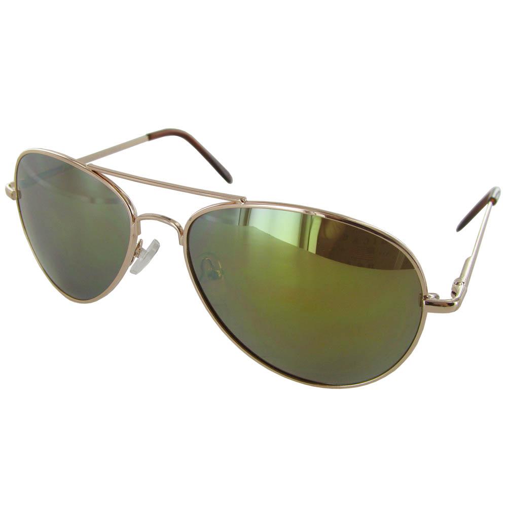 Fashion Eyewear J0880-Revo Metal Frame Aviator Style ...
