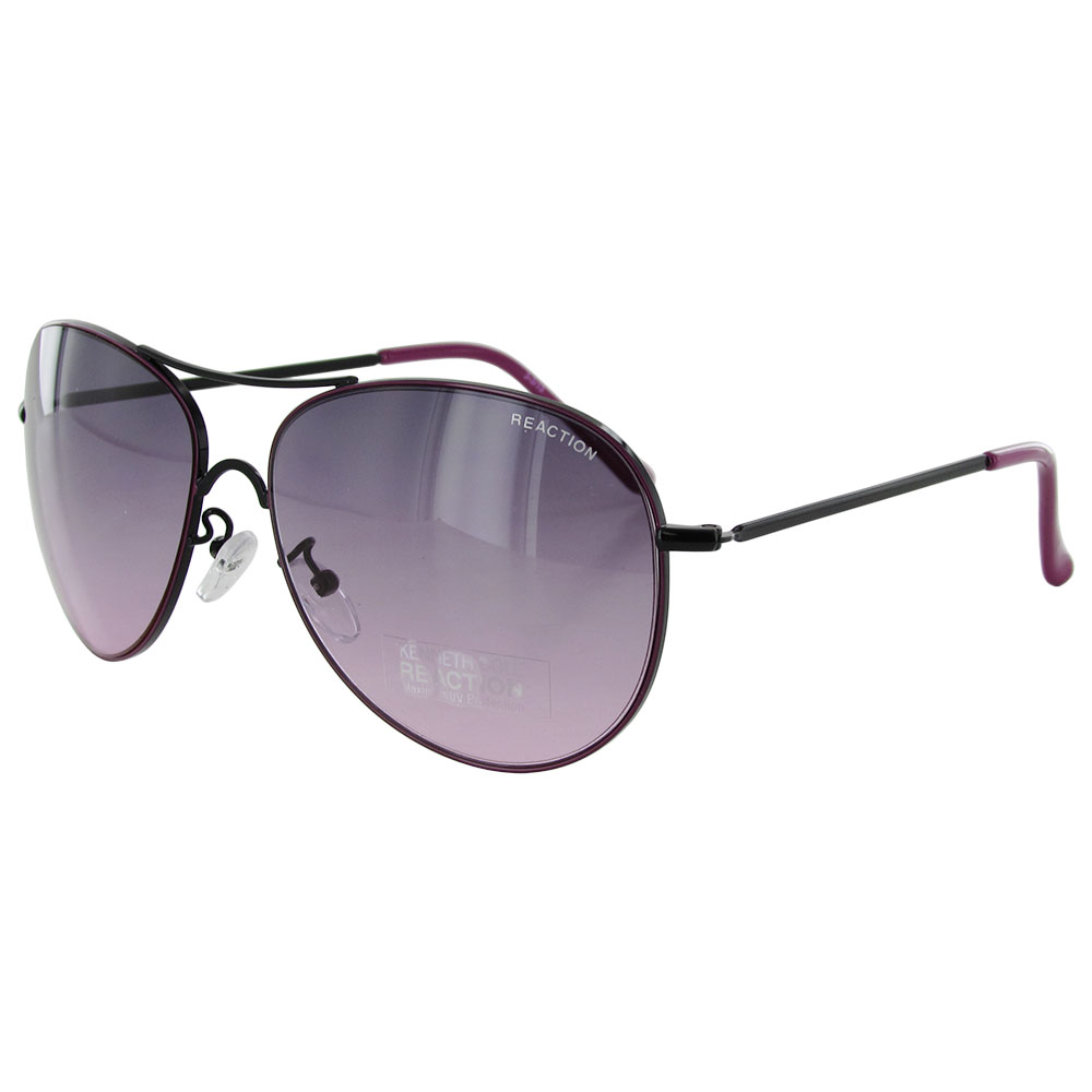 kenneth cole sunglasses  Kenneth Cole Reaction \u0026#039;KC1222\u0026#039; Aviator Sunglasses