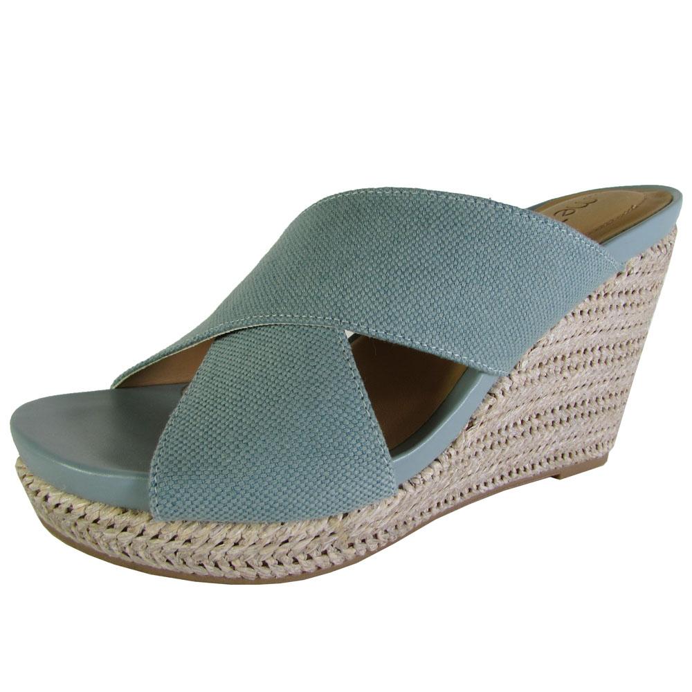 Me Too Womens Athena Platform Wedge Sandal Shoes   eBay
