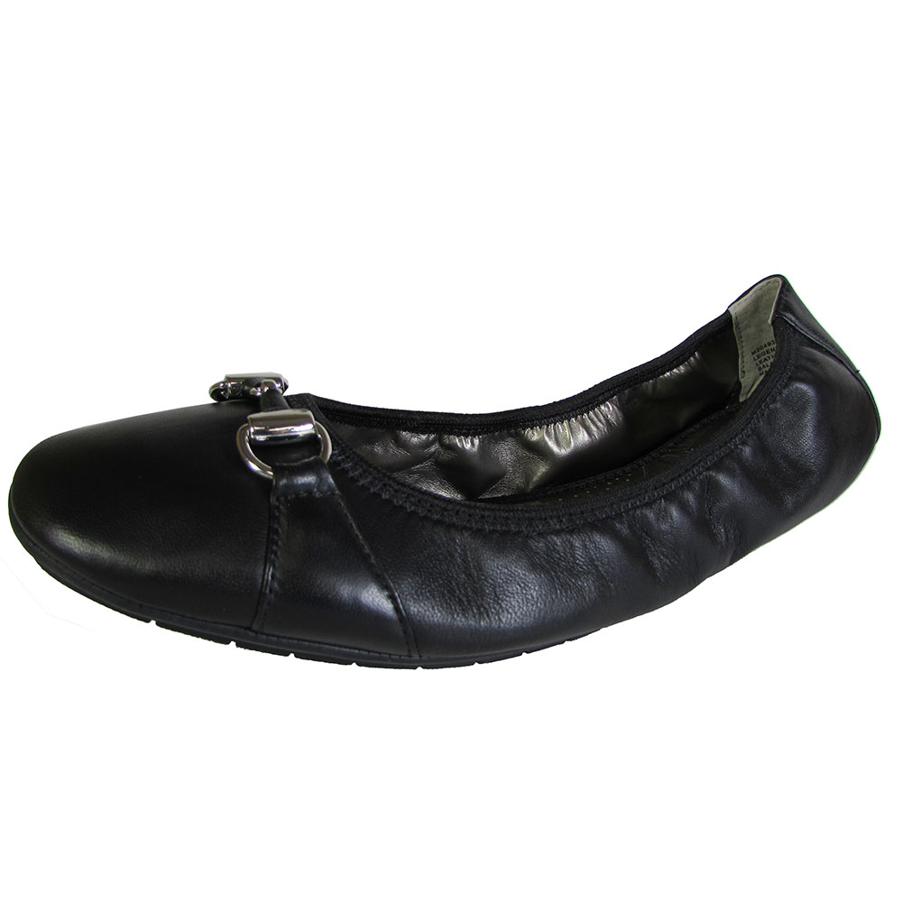 Me Too Womens Legend Leather Ballet Flat Shoe | eBay