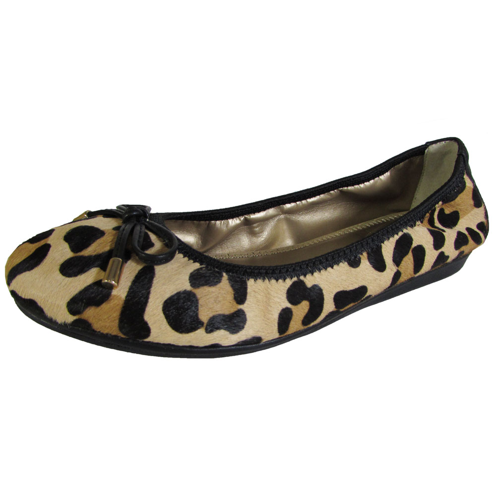 me womens lilly leather ballet flat shoe ebay