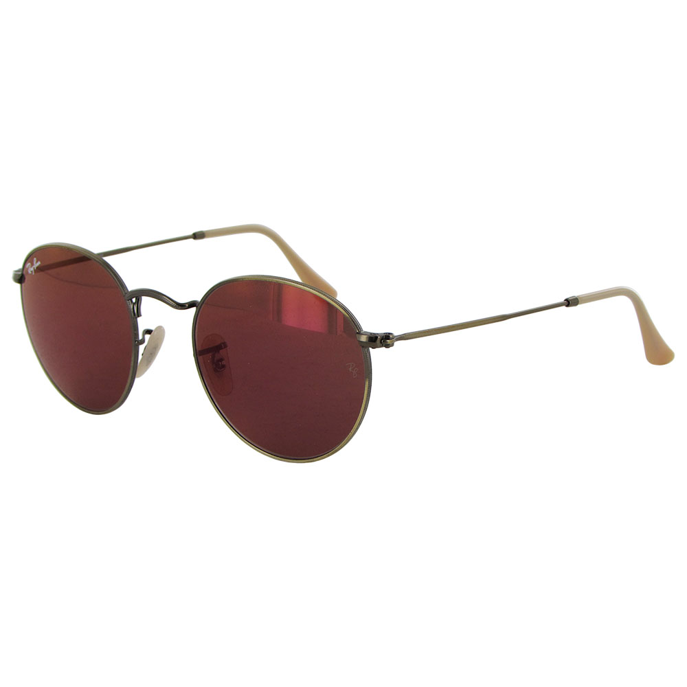 Ray Ban Womens RB3447 Round Metal Frame Sunglasses eBay