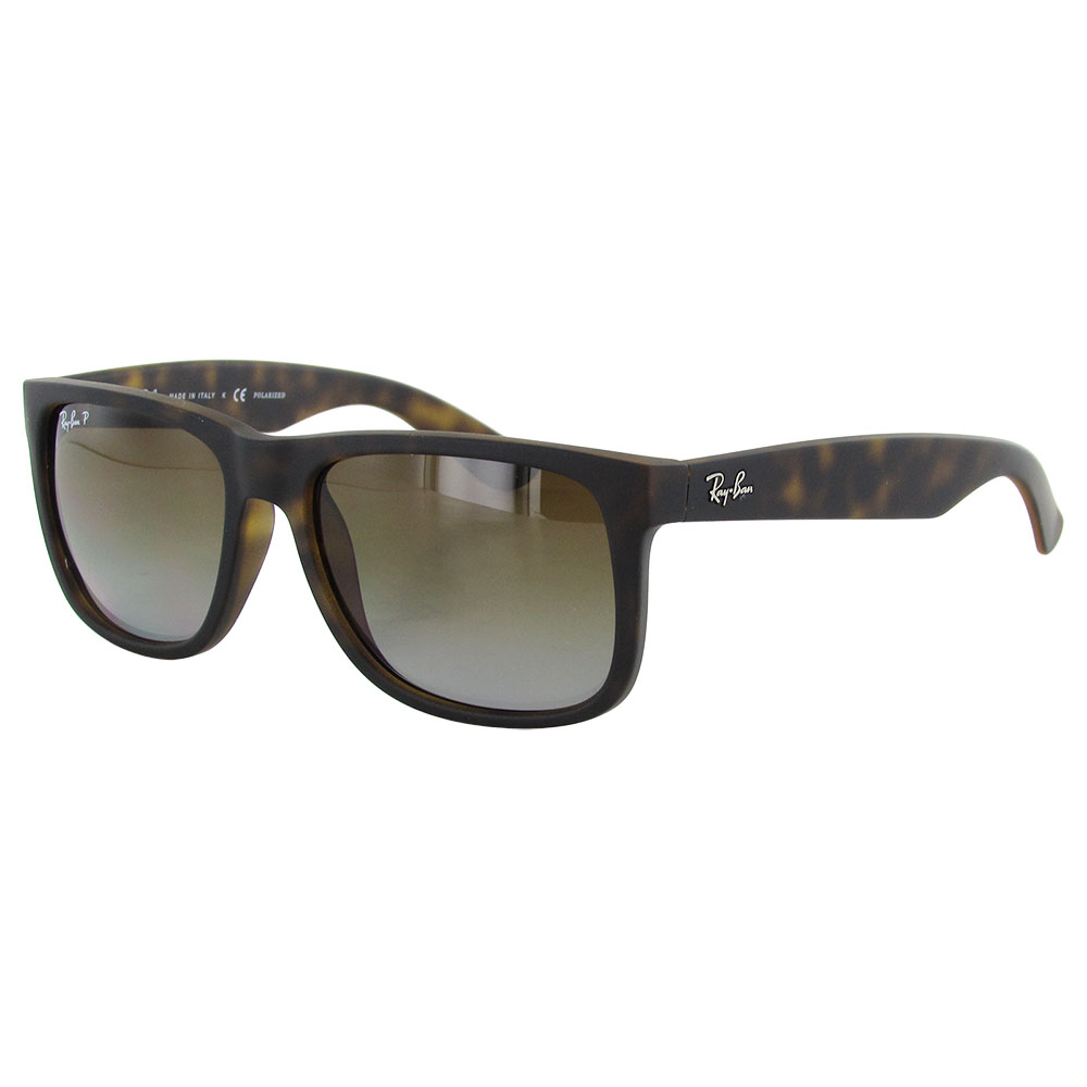 ray ban mens rb4165 justin classic polarized sunglasses ebay. Black Bedroom Furniture Sets. Home Design Ideas