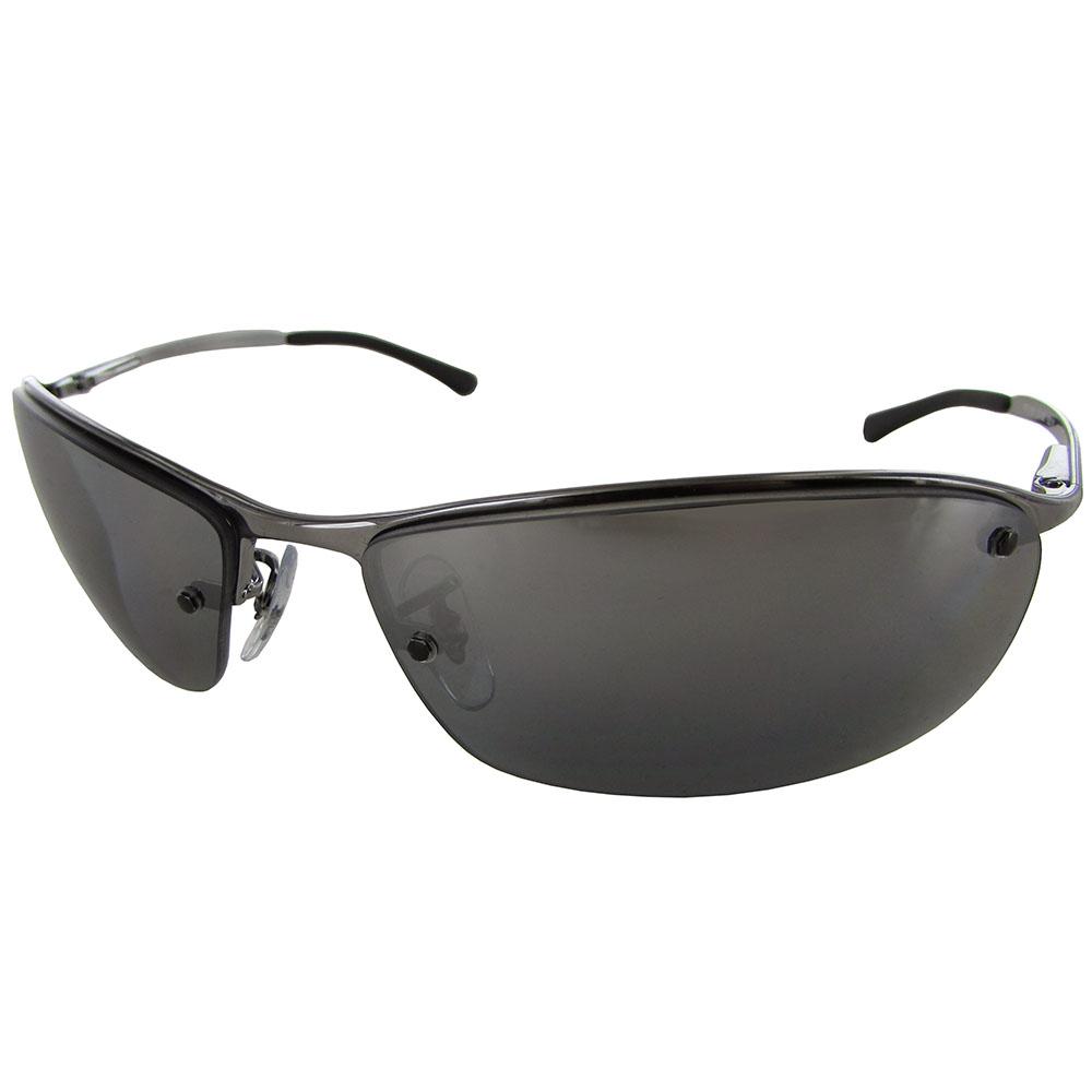 ray ban mens rb3183 semi rimless polarized sunglasses ebay. Black Bedroom Furniture Sets. Home Design Ideas