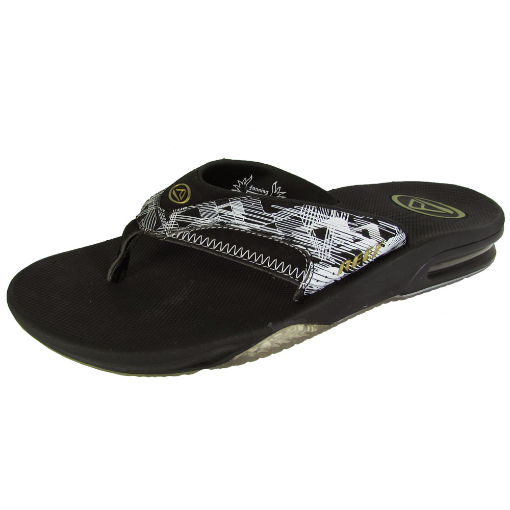 Reef Mens Fanning Thong Flip Flop Sandal Shoes | EBay