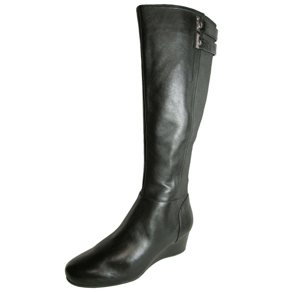 rockport womens total motion 45 mm wedge boot