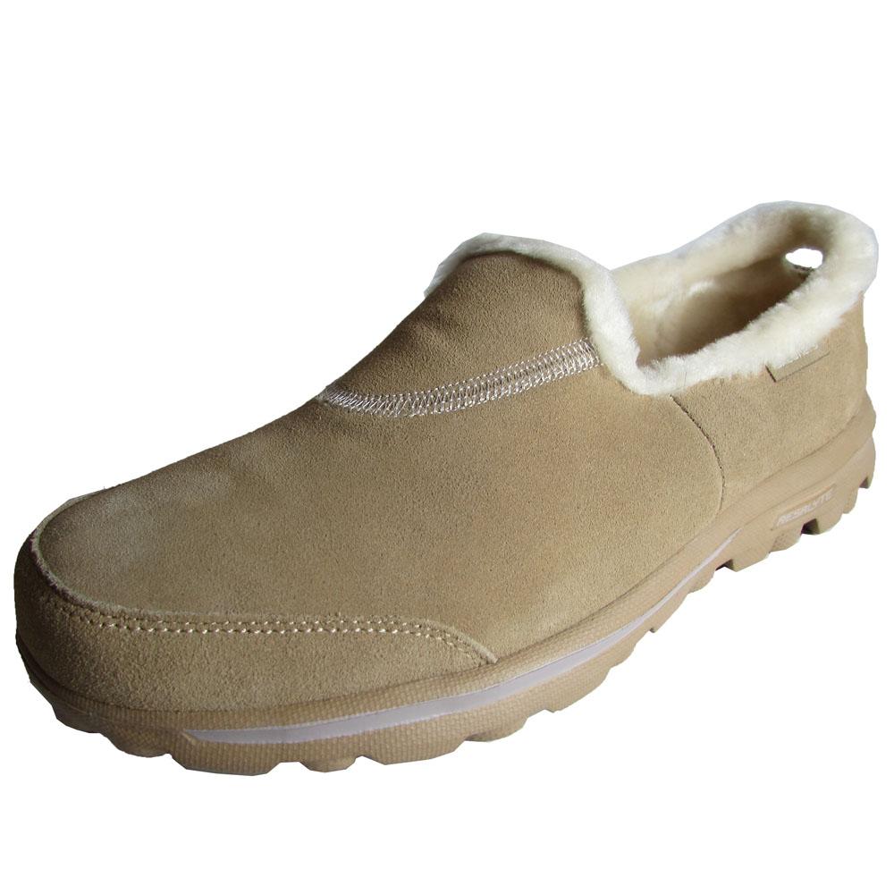 Skechers Go Walk Fur Lined Shoes