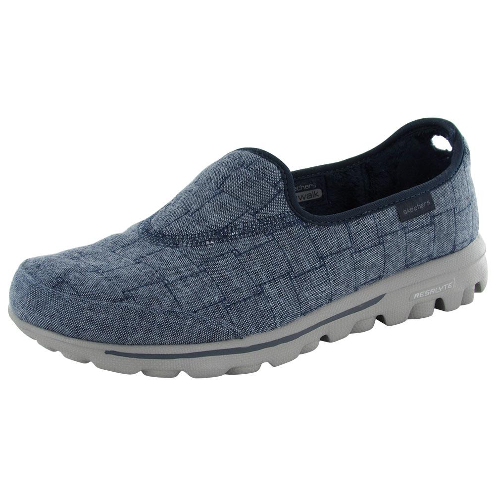 skechers gowalk retreat slip on comfort walking