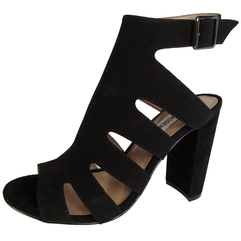 steve madden womens caliie high heel peep toe sandal shoes