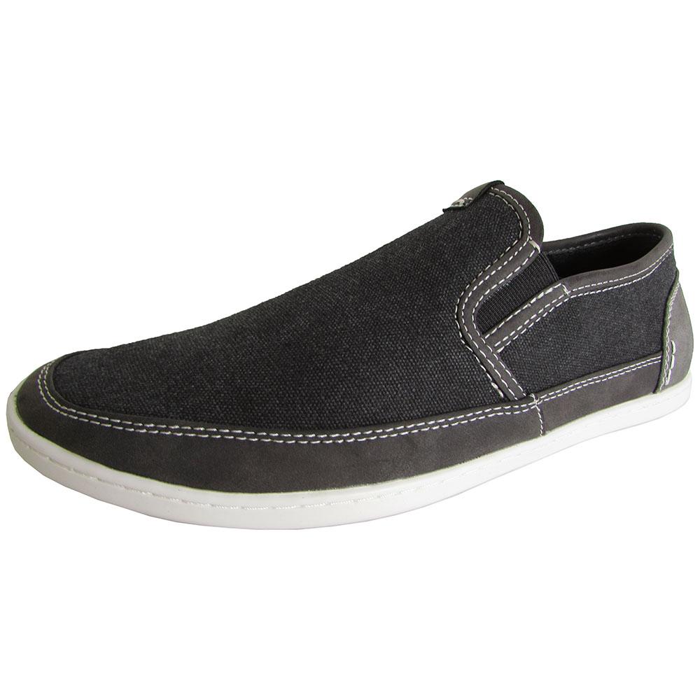 steve madden mens foleeo slip on walking sneaker shoes ebay