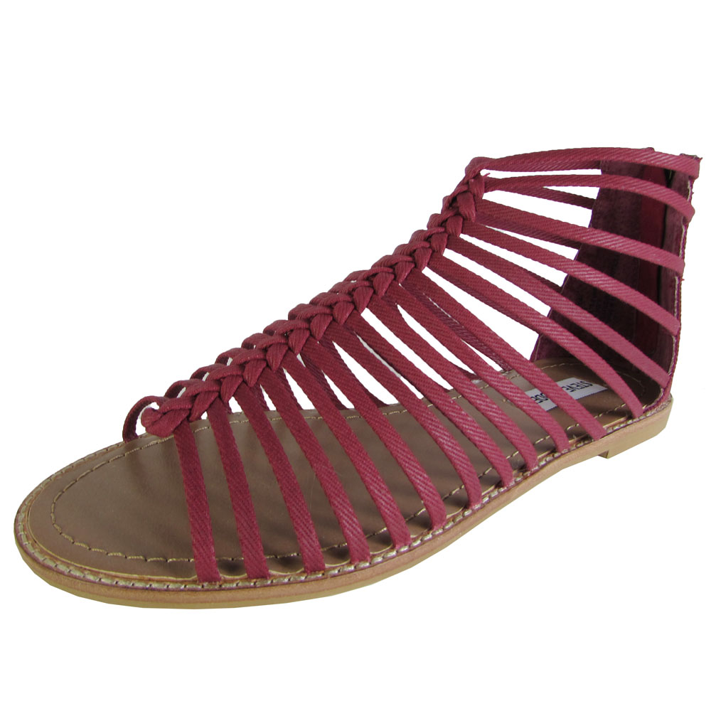 Cool Maddens Swizzle Flat  Sandal Would Be A Terrific Choice For A Bit Dressier Choice, The Uberstrappy Nomadic Sandal Is A Lovely Leather Wedge With Lace Up Details For All Women Wanderers And Explorers, Check Out OTBTs Awesome