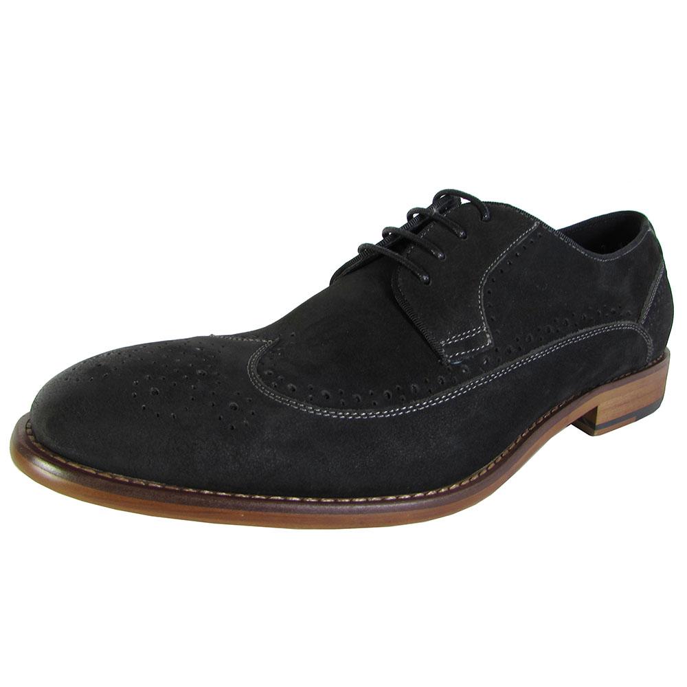 steve madden mens kerman wingtip oxford dress shoes