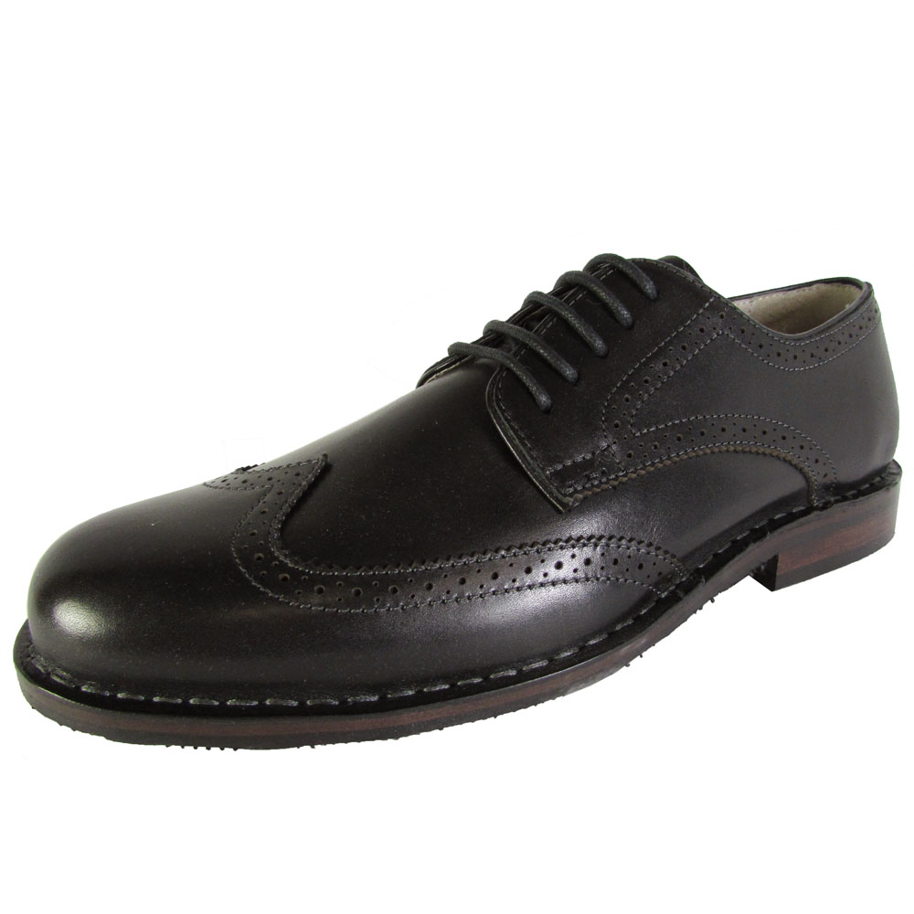 steve madden mens lyford wingtip oxford dress shoes ebay