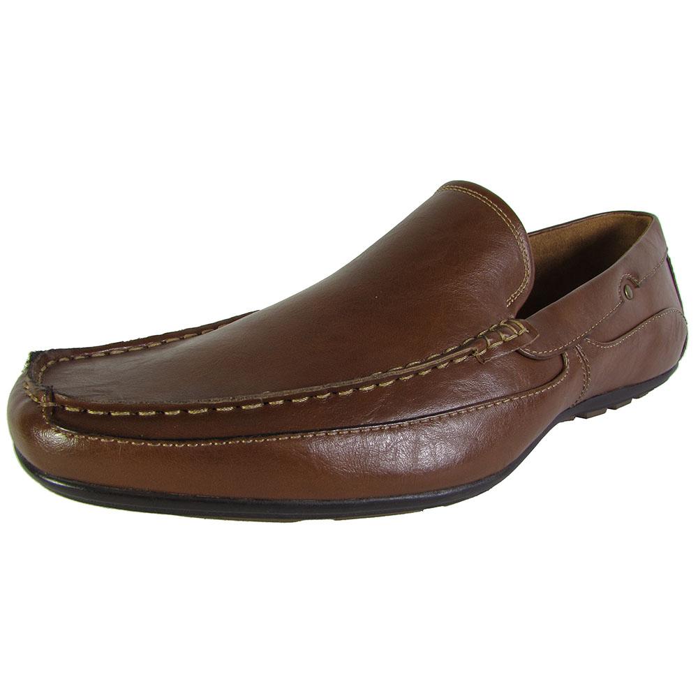 steve madden mens p nickk moc toe slip on loafer shoes ebay
