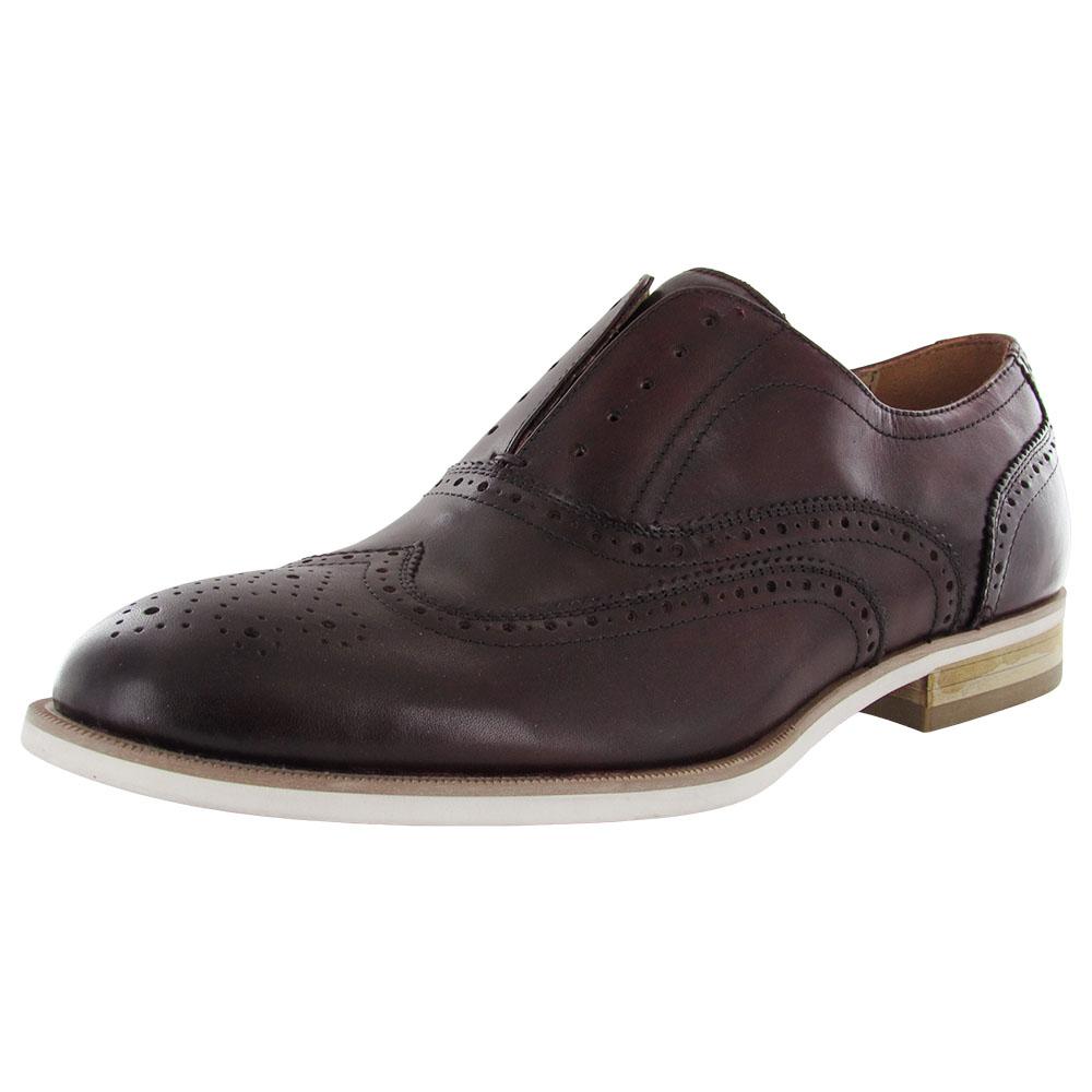steve madden mens romah casual brogue wingtip oxford shoe