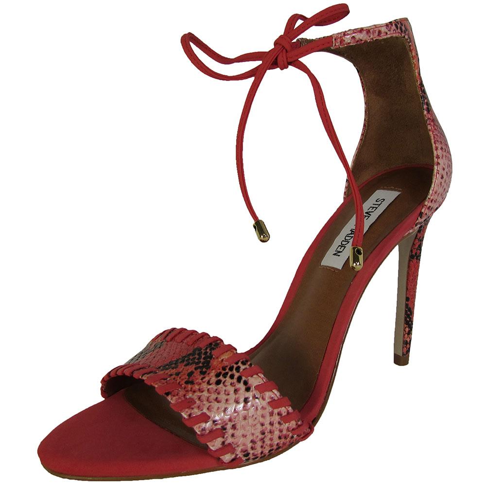 steve madden womens salllie high heel sandal shoes ebay