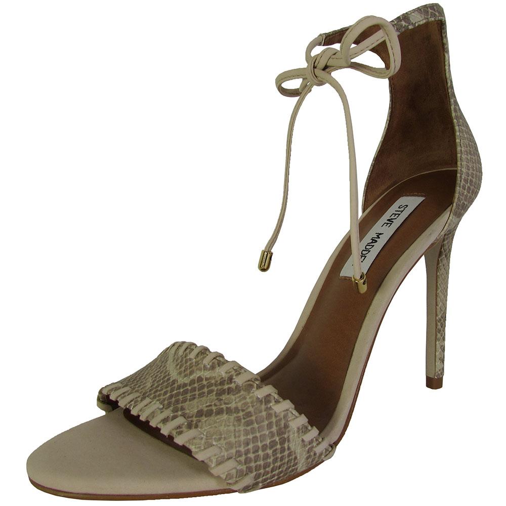 steve madden womens salllie high heel sandal shoes ebay. Black Bedroom Furniture Sets. Home Design Ideas