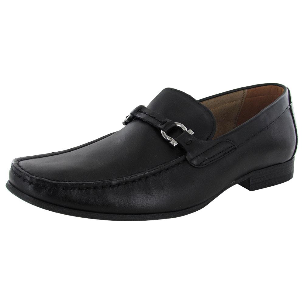 steve madden mens winlock slip on moc toe loafer shoe ebay