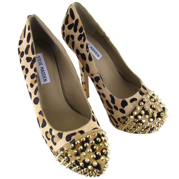 steve madden womens bolddd spiked platform shoe