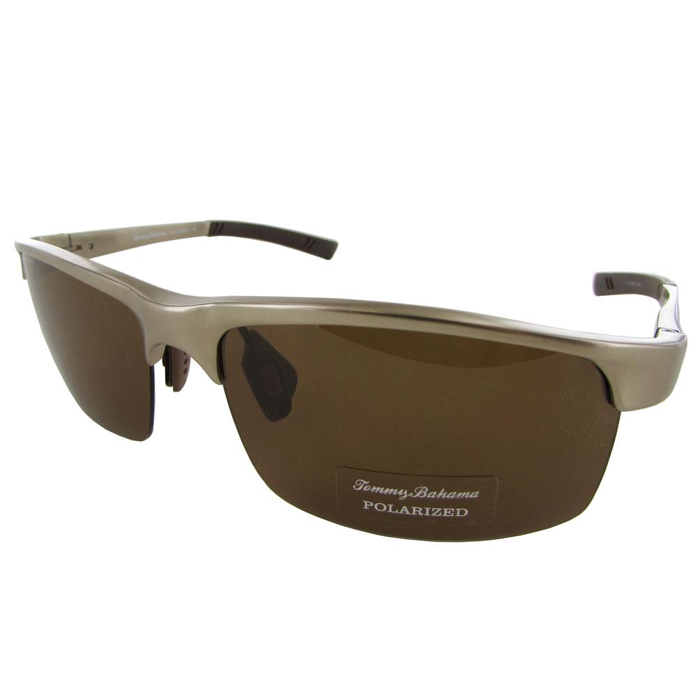 Rimless Polarized Sunglasses : Tommy Bahama Mens TB6018 Aloe-ha Polarized Semi-Rimless ...