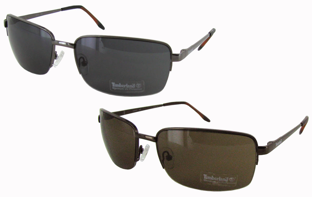 Mens Wire Frame Glasses : Timberland Mens TB7074 Half Wire Frame Aviator Style ...