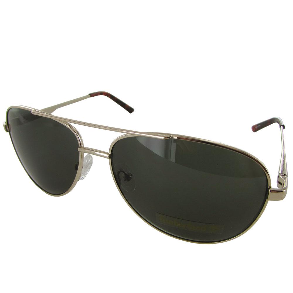Mens Gold Frame Aviator Sunglasses : Timberland Mens TB7118 Metal Frame Aviator Sunglasses eBay