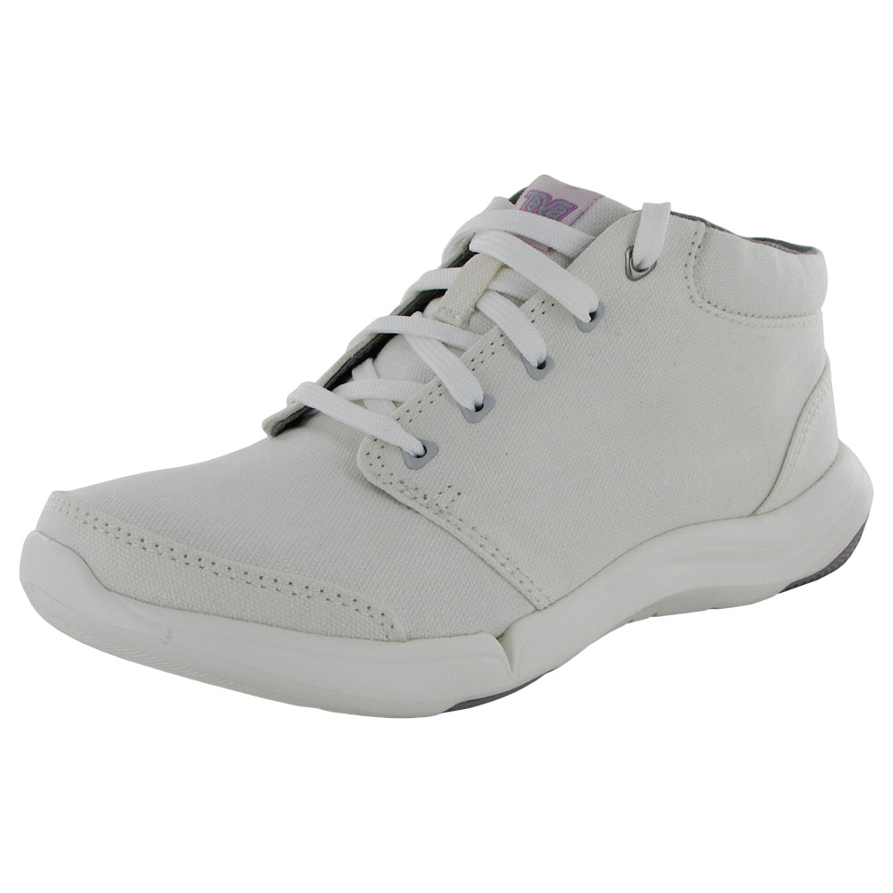 Teva Womens Wander Chukka Casual Canvas Ankle Boot Shoes ...