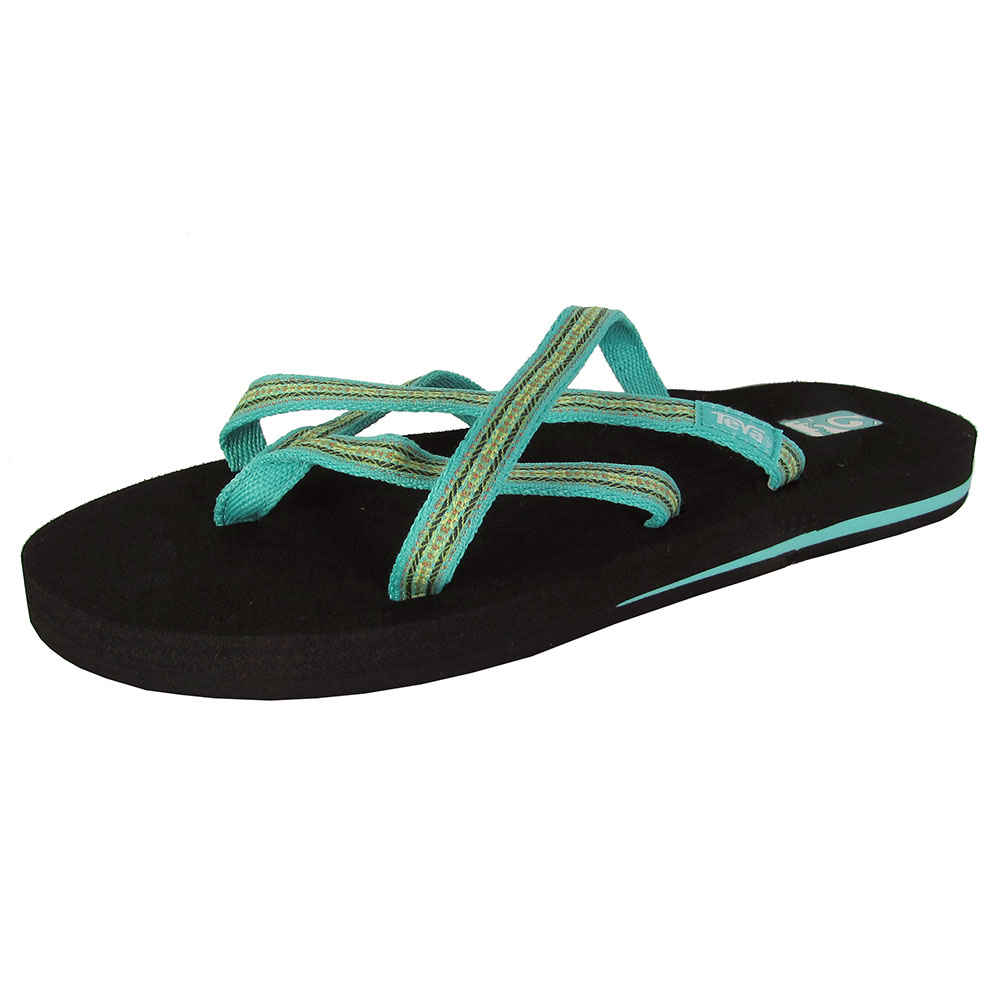 Flip-flops are a type of sandal, typically worn as a form of casual wear. They consist of a flat sole held loosely on the foot by a Y-shaped strap known as a toe thong that passes between the first and second toes and around both sides of the foot.